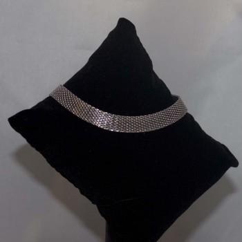 Armband Edelstahl flach