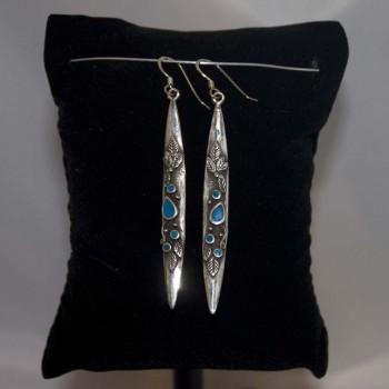 Ohrhänger Türkis 925 Silber