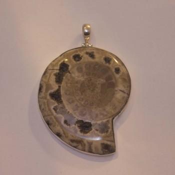 Anhänger Ammonit, 925 Silber