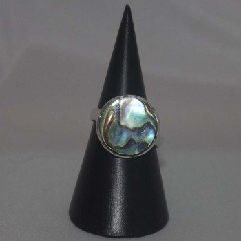 Ring Abalone, 925 Silber
