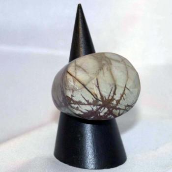 Ring Chochua Jaspis, Chochuajaspisring, Steinring, Größe 58,6