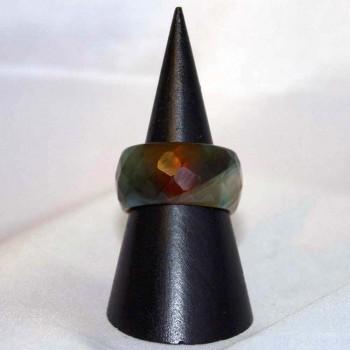 Ring Achat, Achatring, Steinring, Größe 58,5
