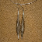 Ohrhänger Spirale 925 Silber