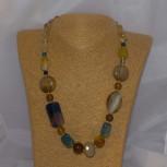 Halskette Achat, 52 cm