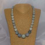 Halskette Korallen, blau, 48 cm
