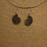 Ohrhänger Ammonit 925 Silber