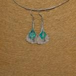 Ohrhänger Calla-Blüte, 925 Silber