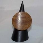 Ring Holz, Holzring, 3 cm, rund